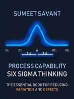 Process Capability: Six Sigma Thinking, #4
