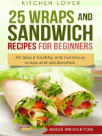 25 Wraps and Sandwich Recipes for Beginners