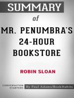 Summary of Mr. Penumbra's 24-Hour Bookstore