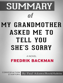 Summary of My Grandmother Asked Me to Tell You She's Sorry