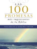 Las 100 promesas más importantes de la Biblia