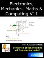 Electronics, Mechanics, Maths and Computing V11