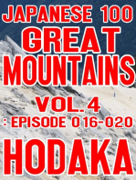 Japanese 100 Great Mountains Vol.4