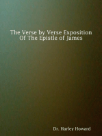 The Verse By Verse Exposition of the Epistle of James