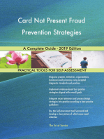 Card Not Present Fraud Prevention Strategies A Complete Guide - 2019 Edition
