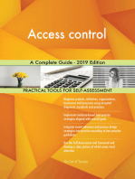 Access control A Complete Guide - 2019 Edition