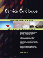 Service Catalogue A Complete Guide - 2019 Edition
