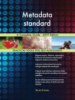 Metadata standard A Complete Guide - 2019 Edition