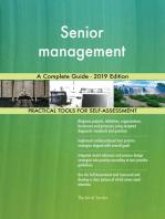 Senior management A Complete Guide - 2019 Edition