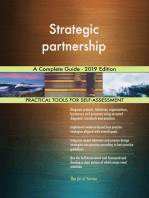 Strategic partnership A Complete Guide - 2019 Edition