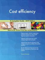 Cost efficiency A Complete Guide - 2019 Edition