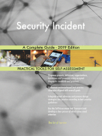 Security Incident A Complete Guide - 2019 Edition