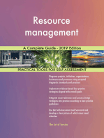 Resource management A Complete Guide - 2019 Edition