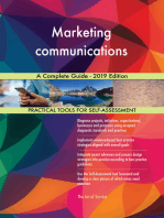 Marketing communications A Complete Guide - 2019 Edition