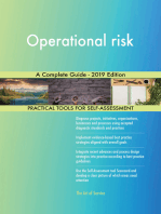 Operational risk A Complete Guide - 2019 Edition