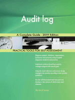 Audit log A Complete Guide - 2019 Edition