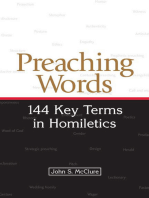 Preaching Words