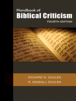 Handbook of Biblical Criticism, Fourth Edition