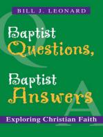 Baptist Questions, Baptist Answers