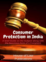 Consumer Protection in India