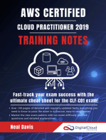 AWS Certified Cloud Practitioner Training Notes 2019