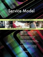 Service Model A Complete Guide - 2019 Edition