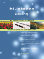 End-User Experience Monitoring A Complete Guide - 2019 Edition