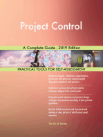 Project Control A Complete Guide - 2019 Edition