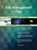 Risk Management Plan A Complete Guide - 2019 Edition