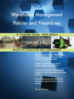 Warehouse Management Policies and Procedures A Complete Guide - 2019 Edition