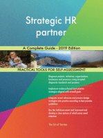 Strategic HR partner A Complete Guide - 2019 Edition