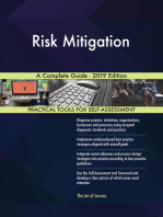 Risk Mitigation A Complete Guide - 2019 Edition