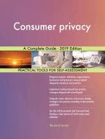 Consumer privacy A Complete Guide - 2019 Edition