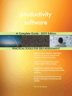 productivity software A Complete Guide - 2019 Edition