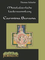 Mittelalterliche Liedersammlung - Carmina Burana