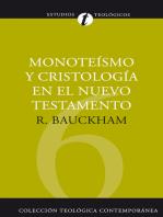 Monoteísmo y cristología en el N.T.