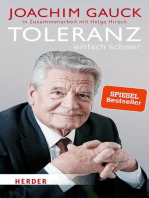 Toleranz: einfach schwer