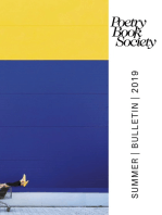 Poetry Book Society Summer 2019 Bulletin