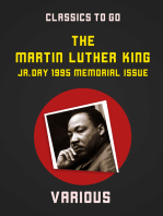 Martin Luther King, Jr. Day, 1995, Memorial Issue