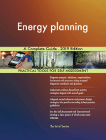 Energy planning A Complete Guide - 2019 Edition