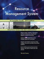 Resource Management System A Complete Guide - 2019 Edition