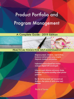 Product Portfolio and Program Management A Complete Guide - 2019 Edition