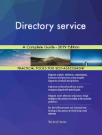Directory service A Complete Guide - 2019 Edition