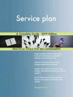 Service plan A Complete Guide - 2019 Edition