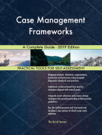 Case Management Frameworks A Complete Guide - 2019 Edition