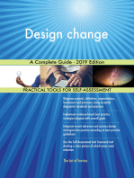 Design change A Complete Guide - 2019 Edition
