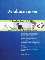 Database server A Complete Guide - 2019 Edition