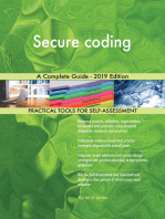 Secure coding A Complete Guide - 2019 Edition