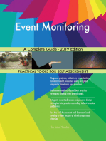Event Monitoring A Complete Guide - 2019 Edition