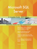 Microsoft SQL Server A Complete Guide - 2019 Edition